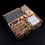 Board Game Accessory: 7 Wonders: Laserox Wooden Wonder Insert
