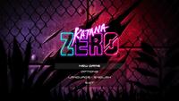 Video Game: Katana ZERO