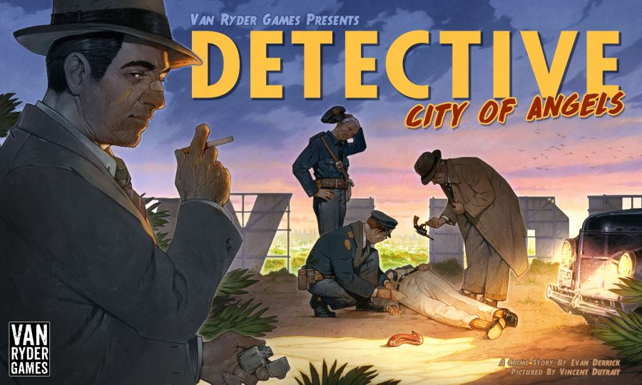 Cover for Detective: City of Angels. Art by Vincent Dutrait.