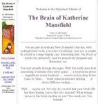 RPG Item: The Brain of Katherine Mansfield