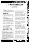 RPG Item: The Warrior Prayer