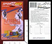 Board Game: Sportz Dice: Baseball
