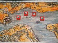 British navy in the Bason