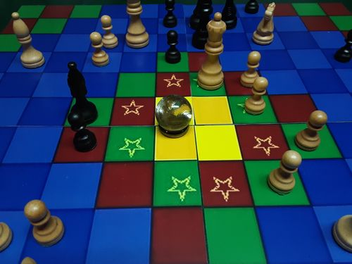 Board Game: Temple Island Chess