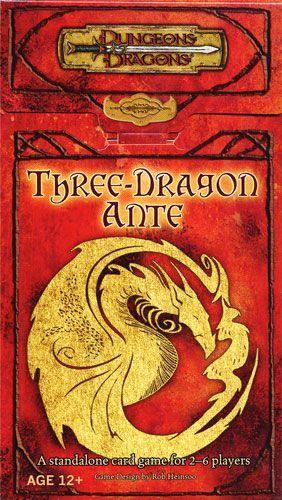 Board Game: Three-Dragon Ante