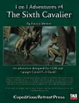 RPG Item: 1 on 1 Adventures #04: The Sixth Cavalier