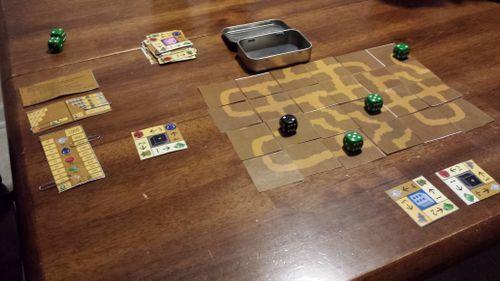 Board Game: Tin Treasures