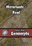 RPG Item: Heroic Maps Geomorphs: Hinterlands - Road