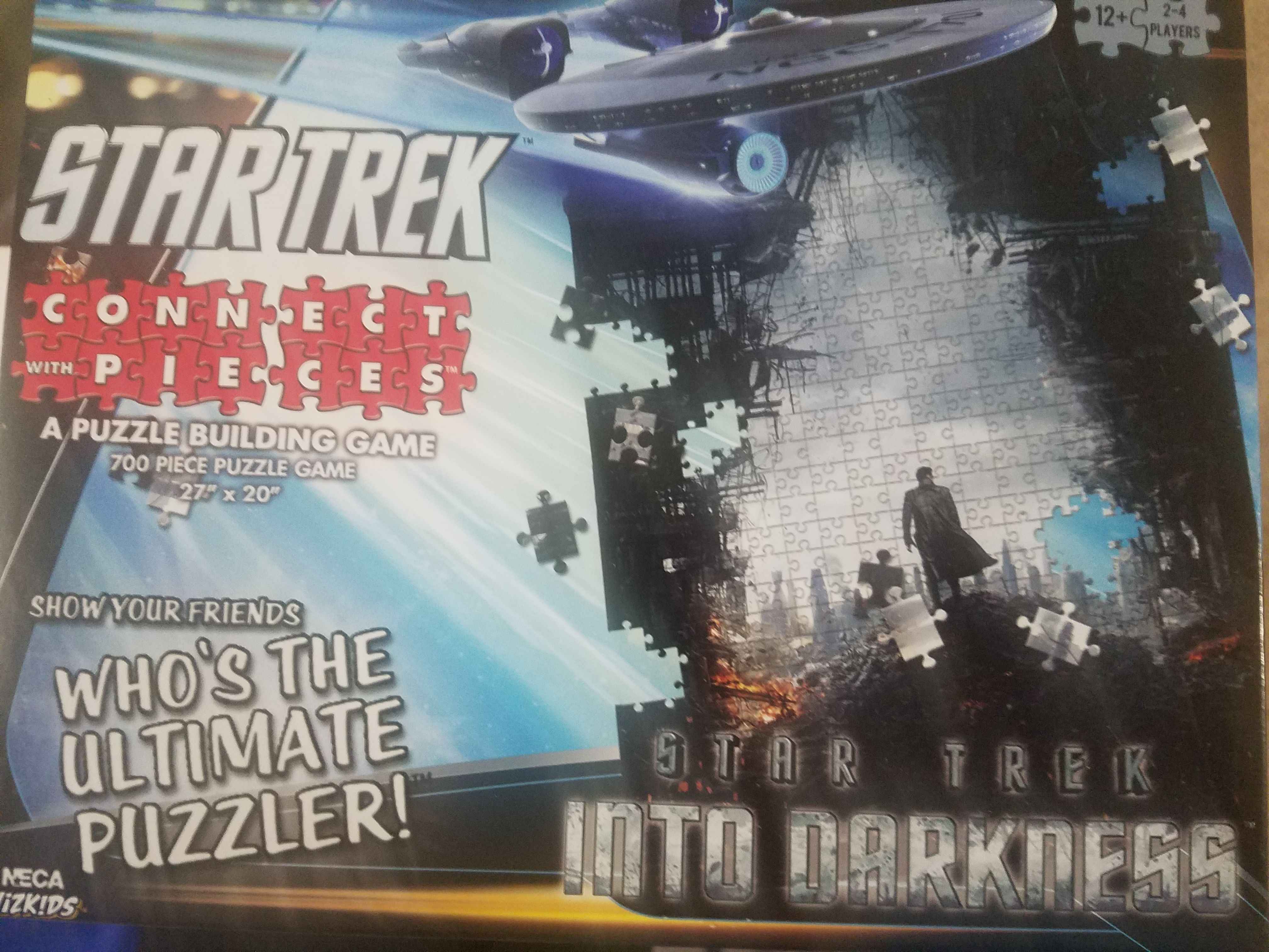 Connect with Pieces: Star Trek Into Darkness
