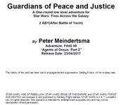 RPG Item: Season 1 Adventure 09: Guardians Of Peace And Justice