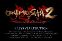 Video Game: Onimusha 2: Samurai's Destiny