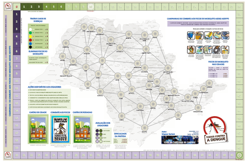 Board Game: Todos contra a Dengue!