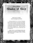 RPG Item: Secrets 3: Shades of Grey