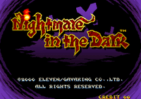 Video Game: Nightmare in the Dark