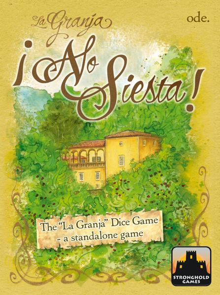 La Granja: No Siesta -- Stronghold Games box -- Note:  Game #4 in the Pocket Line