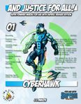 RPG Item: And Justice for All! 01: Cyberhawk