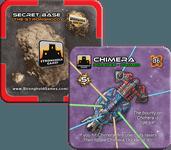 Board Game: Stellar Conflict: Chimera / Secret Base