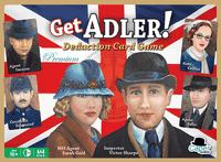 Board Game: Get Adler! Deduction Card Game