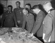 Hitler playing East front 2 with Army Commander-in-Chief Brauchitsch and others, including Friedrich Paulus.
