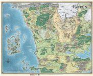 RPG Item: Faerûn Map