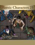 RPG Item: Devin Token Pack 129: Heroic Characters 25