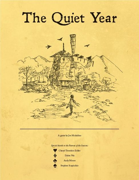 The Quiet Year | Board Game | BoardGameGeek