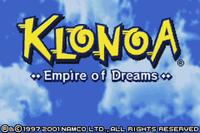 Video Game: Klonoa: Empire of Dreams