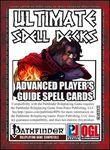 RPG Item: Ultimate Spell Decks: Advanced Player's Guide Spell Cards
