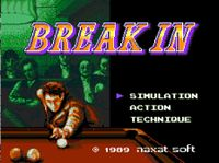 Video Game: Break In (1989)