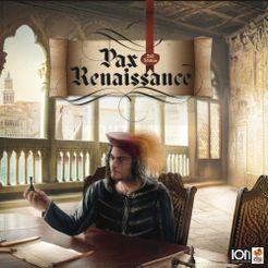 Pax Renaissance: 2nd Edition Cover Artwork