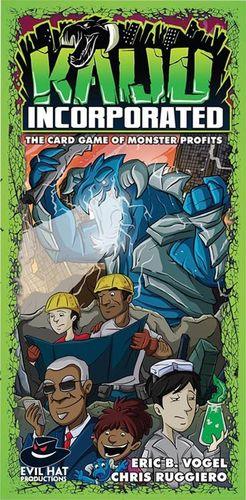 Board Game: Kaiju Incorporated