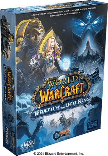 Board Game: World of Warcraft: Wrath of the Lich King