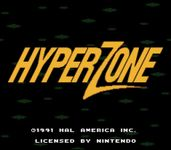 Video Game: HyperZone