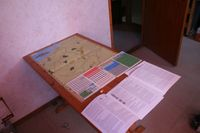 Board Game: Clash of Giants II: 1st Ypres & Galicia 1914