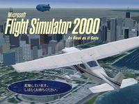 Video Game: Microsoft Flight Simulator 2000