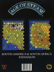 Board Game: Age of Steam Expansion: South America / South Africa