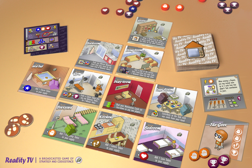 Board Game: Reality TV