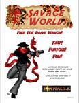 RPG Item: Savage Worlds Test Drive Version 3.0