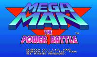 Video Game: Mega Man: The Power Battle