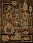 RPG Item: VTT Map Set 044: The Citrine Keep