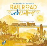 Board Game: Railroad Ink Challenge: Shining Yellow Edition