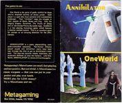 Board Game: Annihilator / OneWorld