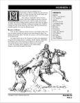 RPG Item: Horses