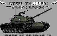 Video Game: Steel Thunder