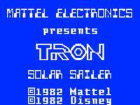 Video Game: Tron: Solar Sailer