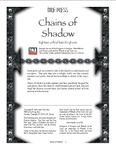 RPG Item: Chains of Shadow