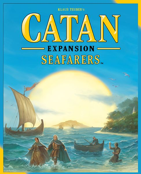 Catan: Seafarers, Mayfair Games, 2015 (image provided by the publisher)