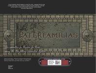 RPG Item: Paterfamilias