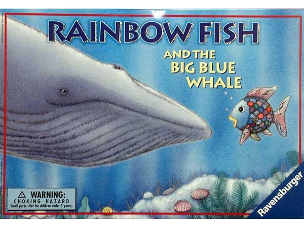 Rainbow fish and the big blue whale game board game for Rainbow fish and the big blue whale