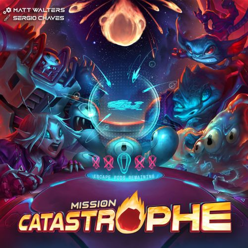 Board Game: Mission Catastrophe